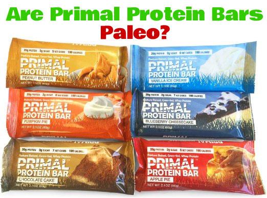 Are Primal Protein Bars Paleo?