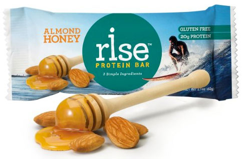 Rise Protein Bar, Almond Honey Flavor
