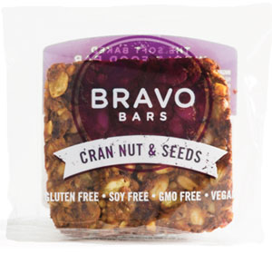 Bravo Bar Cran Nut and Seed, Soft-Baked Whole Food Bar