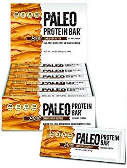 Box of Sunflower Butter Paleo Bars